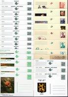 Lot De Cartes Postales - Valeur Faciale 93,78 € - Lot Postkaarten Plakwaarde 93,78 € - Stamped Stationery