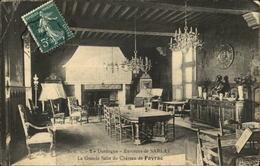 24  La Grande Salle Du Chateau De FAYRAC  Environs De SARLAT - France