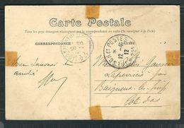 MAROC 1912 CPA Trésor & Postes 221 - Marcophilie (Lettres)