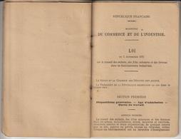 Livret Personnel De L'enfanf à GANNAT. Allier - Année 1907 - TRAVAIL DES ENFANTS DANS L'INDUSTRIE - 44 Pages - 15 Photos - Décrets & Lois