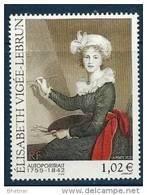 "FR YT 3526 "" Tableau, E. Vigée-Lebrun "" 2002 Neuf** - Unused Stamps"