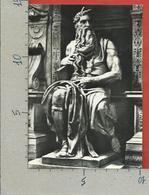 CARTOLINA NV ITALIA - ROMA - Mosè Di Michelangelo - 10 X 15 - Sculture