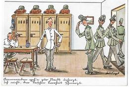 Humour  De Soldat  - époque III Reich - Humor