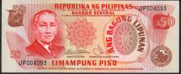 PHILIPPINES P163b 50 PISO 1978 #JP Signature 3 UNC. - Philippines