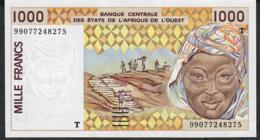 W.A.S. TOGO P811Ti 1000 FRANCS (19)99   UNC. - West African States