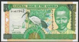 GAMBIA PP21c 10 DALASI 2005 Prefix D   UNC. - Gambia