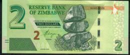 ZIMBABWE P99 2 DOLLARS 2016 UNC. - Zimbabwe