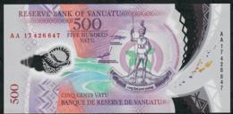 VANUATU P18 500 VATU 2017 UNC. - Vanuatu