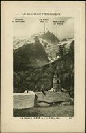 LA GRAVE 1920 : L'Église. Le Dauphiné Pittoresque / Fenêtre Encadrée - France
