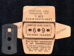 Rasage. Razor Blade. Lame De Rasoir. 3 Lames 69, Emballages Différents. Thiers-Issard. 2 Photos. - Razor Blades