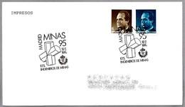 Minas'95 - ARAGONITO - ARAGONITE. Madrid 1995 - Minerales