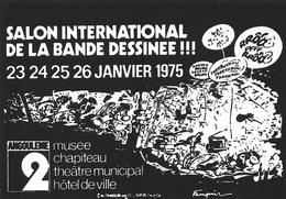 André FRANQUIN - Angoulème 2ème Salon De La Bande-Dessinée 1975 - Gaston Lagaffe - Comics