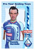 CARTE CYCLISME DANIELE NARDELLO TEAM FUJI SERVETTO 2009 - Cyclisme