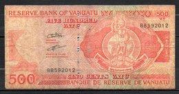 621-Vanuatu Billet De 500 Vatu BB592 - Vanuatu