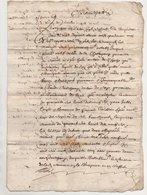Bozas Ardèche 1670 - Manuscrits