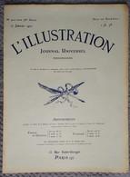 L'Illustration 4011 17 Janvier 1920 Traité De Versailles Ratifié/Napoléon Bonaparte/Naufrage Paquebot Afrique/Louvre - Journaux - Quotidiens