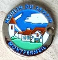 Jeton De Caddie  Ville, MOULIN  DU  SEMPIN  à  MONTFERMEIL  ( 93 )  Recto  Verso - Jetons De Caddies