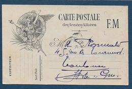 Carte F.M. - La Marseillaise - ( éditeur Joufroy - Beaune ) - Postmark Collection (Covers)