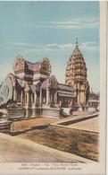 DAV : Asie :  Angkor  , Vat , Tour  Nord  Ouest ,  Auberlet  , Blanche - Cartes Postales