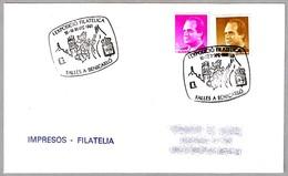 FALLAS EN BENICARLO - I Exposicion Filatelica. Benicarlo 1991 - Fiestas