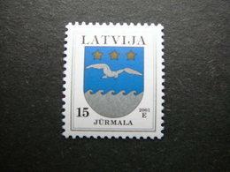 Definitive Issue Arms # Latvia Lettland Lettonie # 2001 MNH # Mi. 522 II - Lettonie