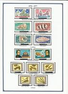 WALLIS ET FUTUNA N° 190 à 191 + 192 à 195 + 196 à 202 De 1976 1977 Neufs Sans Charnière - Wallis-Et-Futuna