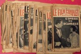 Revue Le Film Complet. Lot De 38 Revues Illustrées (photos) Sur Les Fims De 1930-1931. Cinéma. Stars - Cinéma/Télévision