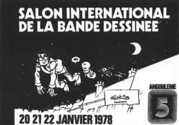 Marcel GOTLIB - Angoulème 5ème Salon De La Bande-Dessinée 1978 - La Coccinelle - Comics