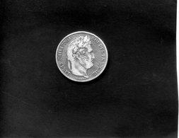 5 F Argent Louis Philippe I - Domard.F. - J. 5 Francs