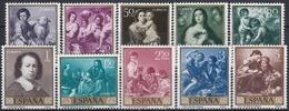 ESPAÑA 1960 Nº 1270/1279 NUEVO PERFECTO - 1951-60 Usados