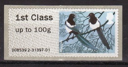 GB Post & Go Faststamps 2011 Birds Of Britain Single 1st Class - Great Britain