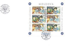 2007.  Europa 2007, FDC With Booklet-pane,  Mint/** - 2007