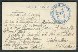 MAROC 1916 CPA Mazagan Troupes Débarquées Au Maroc - Marcophilie (Lettres)
