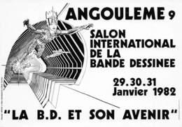 MOEBIUS - Angoulème 9ème Salon De La Bande-Dessinée 1982 - Comics