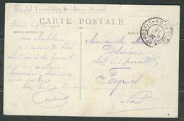 MAROC 1913 CPA Mazagan Rgt étranger - Marcophilie (Lettres)