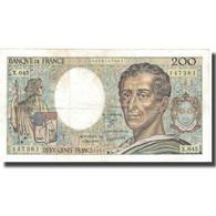 France, 200 Francs, 200 F 1981-1994 ''Montesquieu'', 1987, 1987, TTB - 200 F 1981-1994 ''Montesquieu''