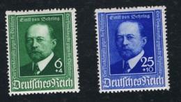 1940 Mi DR 760 - 61 Sn DE B186 - 87 Yt DR 684 - 85 Sg DR 748 - 49 Mit Gummierung Und Falz - Germania