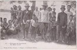 Groupe De Laotiens Du Bas Laos - Laos