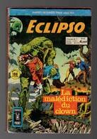 Petit Format Eclipso N°55 La Malédiction Du Clown - Cauchemar Vivant - Captain America Le Piège De Modock De 1975 - Arédit & Artima