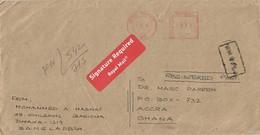 "Bangladesh 2006 Dhaka Meter Neopost ""Electronic"" EMA Registered Cover - Bangladesh"