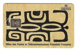 Télécarte Polynésie  PF 20  Honu Kakaa Lézard - Polynésie Française