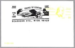 Vuelo CHARLES LINDBERGH NEW-YORK - PARIS. Avion SPIRIT ST. LOUIS. Dearborn Hts MI 1987 - Aviones