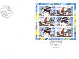 2010.  Europa 2010, FDC With Booklet-pane, Mint/** - Europa-CEPT