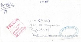 Seychelles 2002 Victoria Postage Paid Prepaid A Official Unfranked Cover - Seychellen (1976-...)