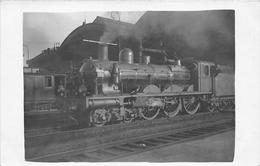 ¤¤  -   Carte-Photo Non Situé D'une Locomotive N° 960 En Gare  -  Chemin De Fer   -  ¤¤ - Matériel