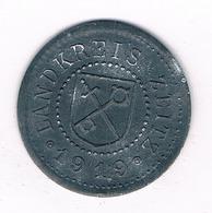 10 PFENNIG 1919  ZEITZ DUITSLAND /2321/ - [ 3] 1918-1933 : Republique De Weimar
