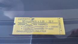 LOT 445744 TIMBRE DE FRANCE NEUF** LUXE N°2376-C6Ab RARE LIGNE ONDULE VALEUR 160 EUROS - Carnets