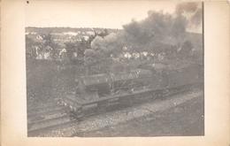 ¤¤  -   Carte-Photo Non Situé D'une Locomotive Du Réseau EST  -  Chemin De Fer   -  ¤¤ - Matériel