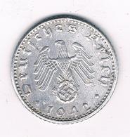 50 PFENNIG 1942 A   DUITSLAND /2323/ - [ 4] 1933-1945 : Troisième Reich