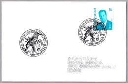 ESTORNINO PINTO - Sturnus Vulgaris - Common Starling - Etourneau Sansonnet. Brussel 1996 - Obliteraciones & Sellados Mecánicos (Publicitarios)
